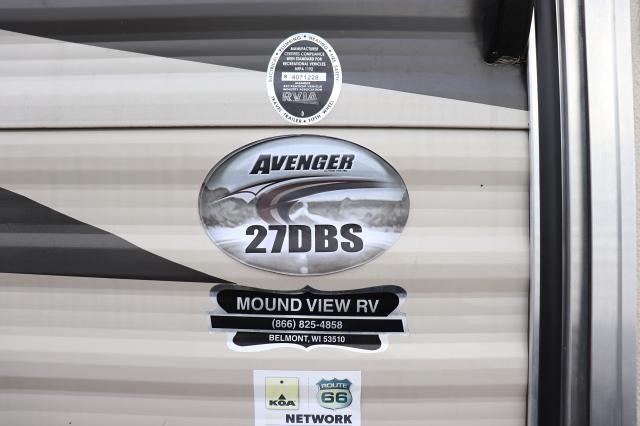2016 Forest River/Prime Time Avenger ATI 27DBS TT Stk #2602