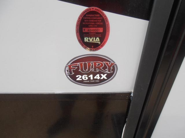 2017 Forest River/Prime Time Fury 2614X TT Stk #2150