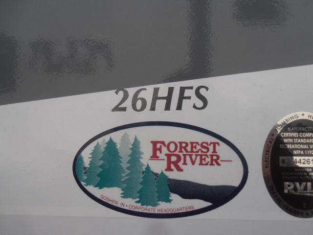 2017 Forest River XLR HyperLite 26HFS TT Stk #2252