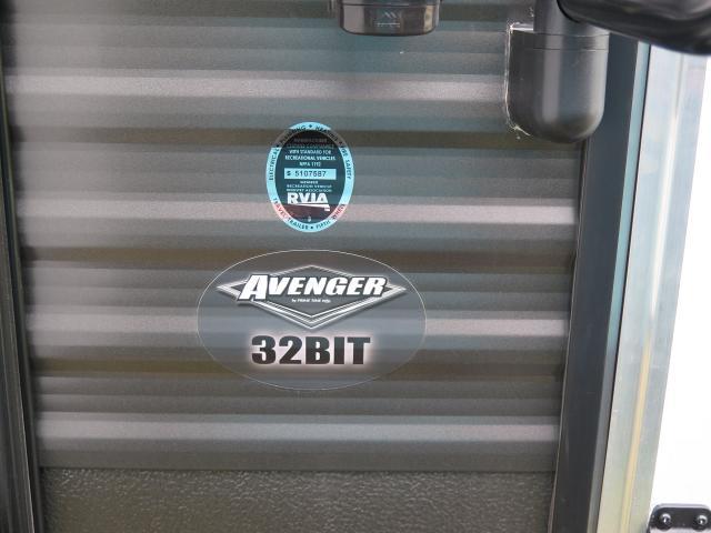 2019 Forest River/Prime Time Avenger 32BIT TT Stk #2539