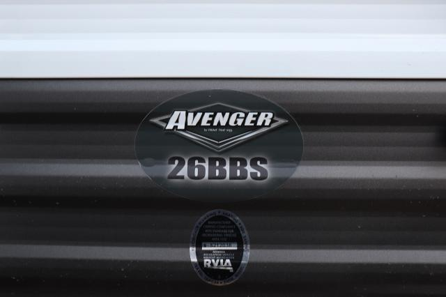 2019 Forest River/Prime Time Avenger ATI 26BBS TT Stk #2574